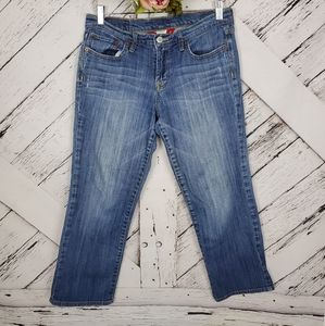 Lucky Brand Cropped Blue Jeans sz 8/29